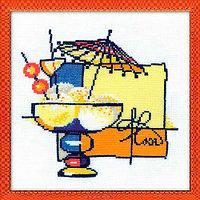 Набор для вышивания Riolis 'Мороженое', 20*20 см