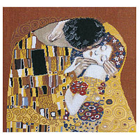 Набор для вышивания 'Чарівна Мить' По мотивам Г. Климта 'Поцелуй (фрагмент)', 42*38 см