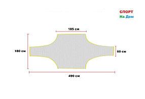 Учебные сетки-мишени для футбольных ворот (габариты: 490*180 см)