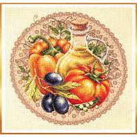 Набор для вышивания Чудесная игла 'Средиземноморский салат' 27*27см