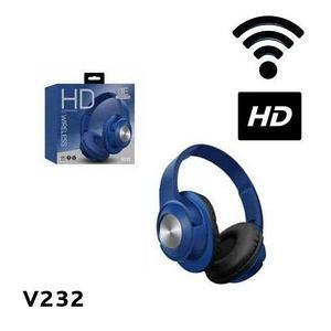 Bluetooth-наушники беспроводные HD Wireless V232 (Синий)