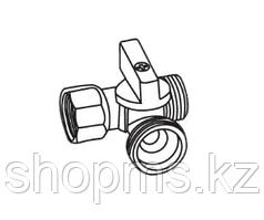 "Кран Royal Thermo OPTIMAL для стиральной машины 1/2""x3/4""x1/2"""