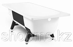 Ванна стальная 2,7 TEVRO 150*70*40 (белый лотос) б/р с опорной подставкой