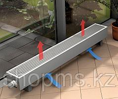 Напольный конвектор SAVVA Forte 185*130*1500 конц прав RAL9003 скрытое подключение