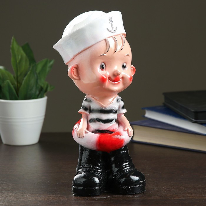 "Копилка ""Мальчик-морячок"" 25см"
