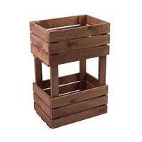 Ящик для овощей, 30 x 40 x 60 см, деревянный, двухуровневый