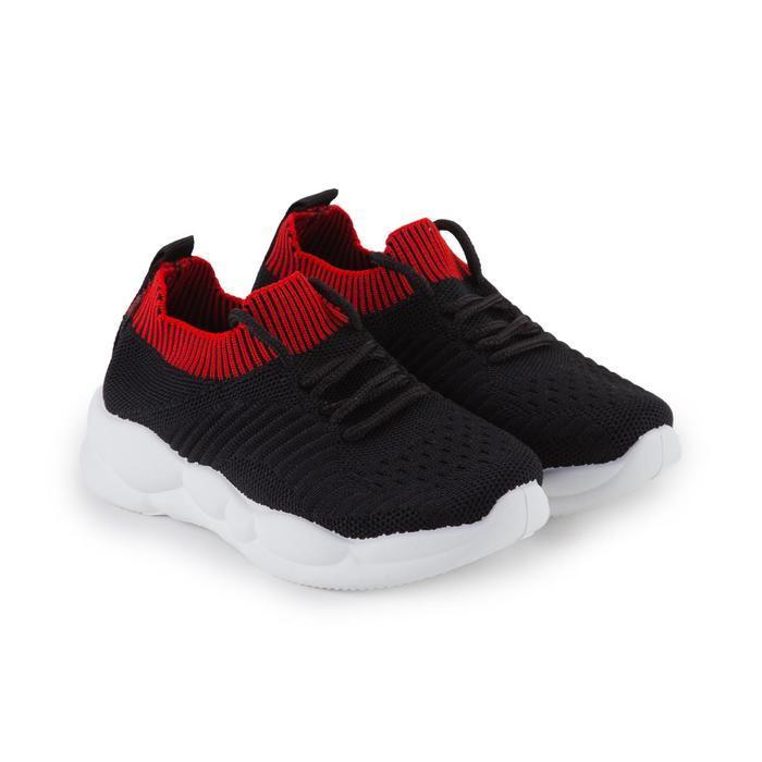 Кроссовки детские, цвет чёрный, размер 30