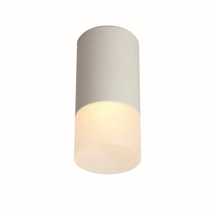 Потолочный светильник накладной 1х10Вт GU5.3 белый 6,5х6,5х11см