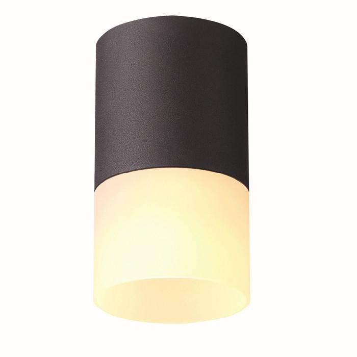 Потолочный светильник накладной 1х10Вт GU5.3 черный 6,5х6,5х11см