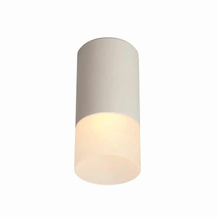 Потолочный светильник накладной 1х10Вт GU5.3 белый 8х8х14,5см