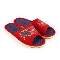 Тапочки женские, цвет красный, размер 37