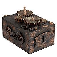 Шкатулка с секретом Gearbox, малая