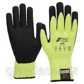 Перчатки утепленные, защищающие от порезов NITRAS TAEKI