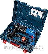 Перфоратор SDS-plus, ЗУБР Профессионал ЗП-24-750 К, 2.6 Дж, 0-1100 об/мин, 0-4500 уд/мин, 750 Вт, кейс, фото 2