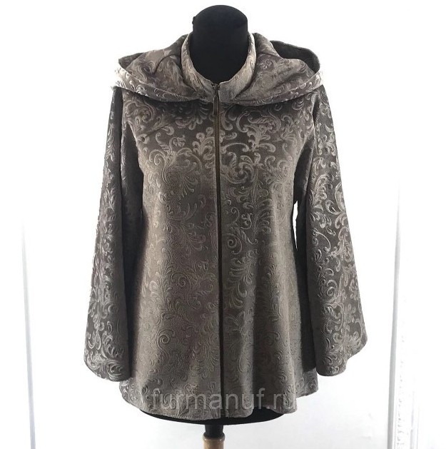 Куртка бархатная