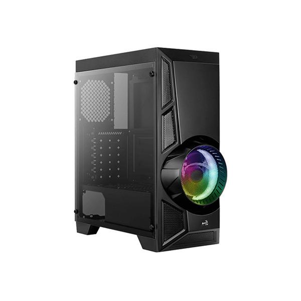 Компьютерный корпус Aerocool AeroEngine RGB-G-BK-v2 (Black)