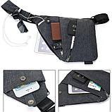 Мужская Сумка кобура Fino + часы Casio в подарок!, фото 5