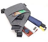 Мужская Сумка кобура Fino + часы Casio в подарок!, фото 6