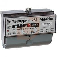 Счетчик электричества Меркурий 231 АМ-01Ш