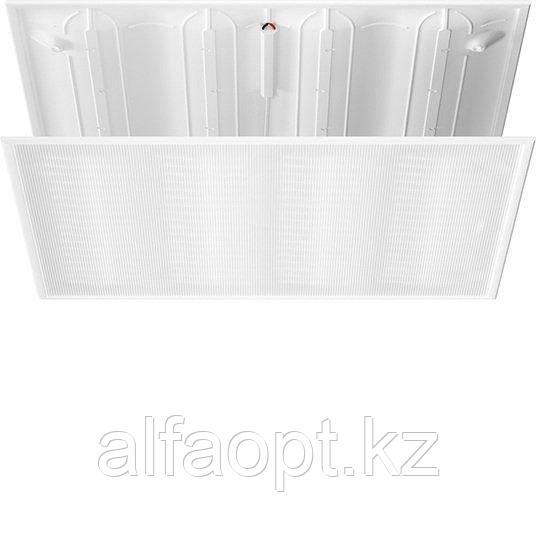 Светодиодный светильник Geniled Office Wave 597х597х20 5000К Матовое закаленное стекло 118 лм/Вт (30Вт 3540лм)