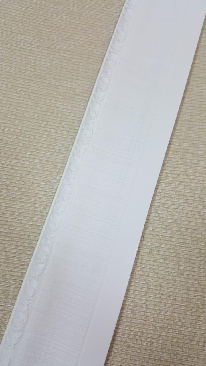 Полиуретановые молдинги Baseboard E-01 Pure White 80*13