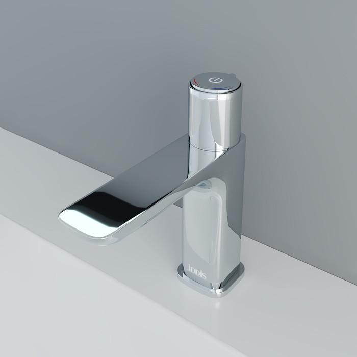 Смеситель IDDIS Slide Push Control для умывальника кнопочный