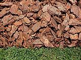 Кора сосновая, 50-100мм, 60л, фото 3