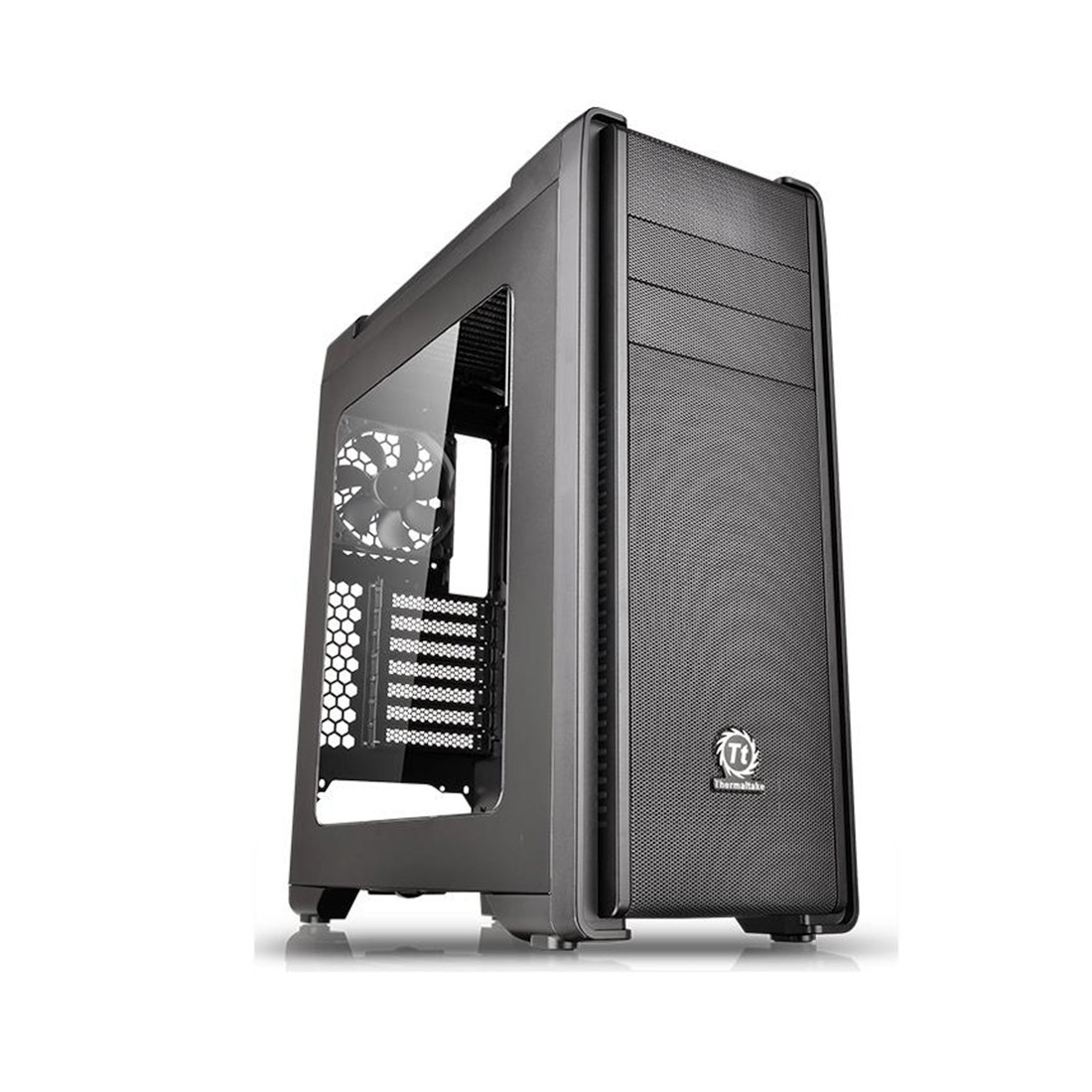Компьютерный корпус Thermaltake Versa C21 RGB Black CA-1G8-00M1WN-00 (Без Б/П)