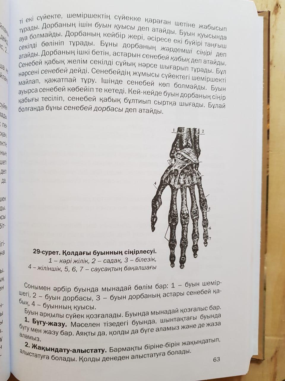 Халел Досмұхамедұлы. Адамның тән тірлігі (оқу құралы) - фото 3