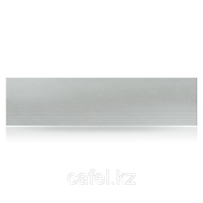 Керамогранит 120х30 U002RS ступени серый