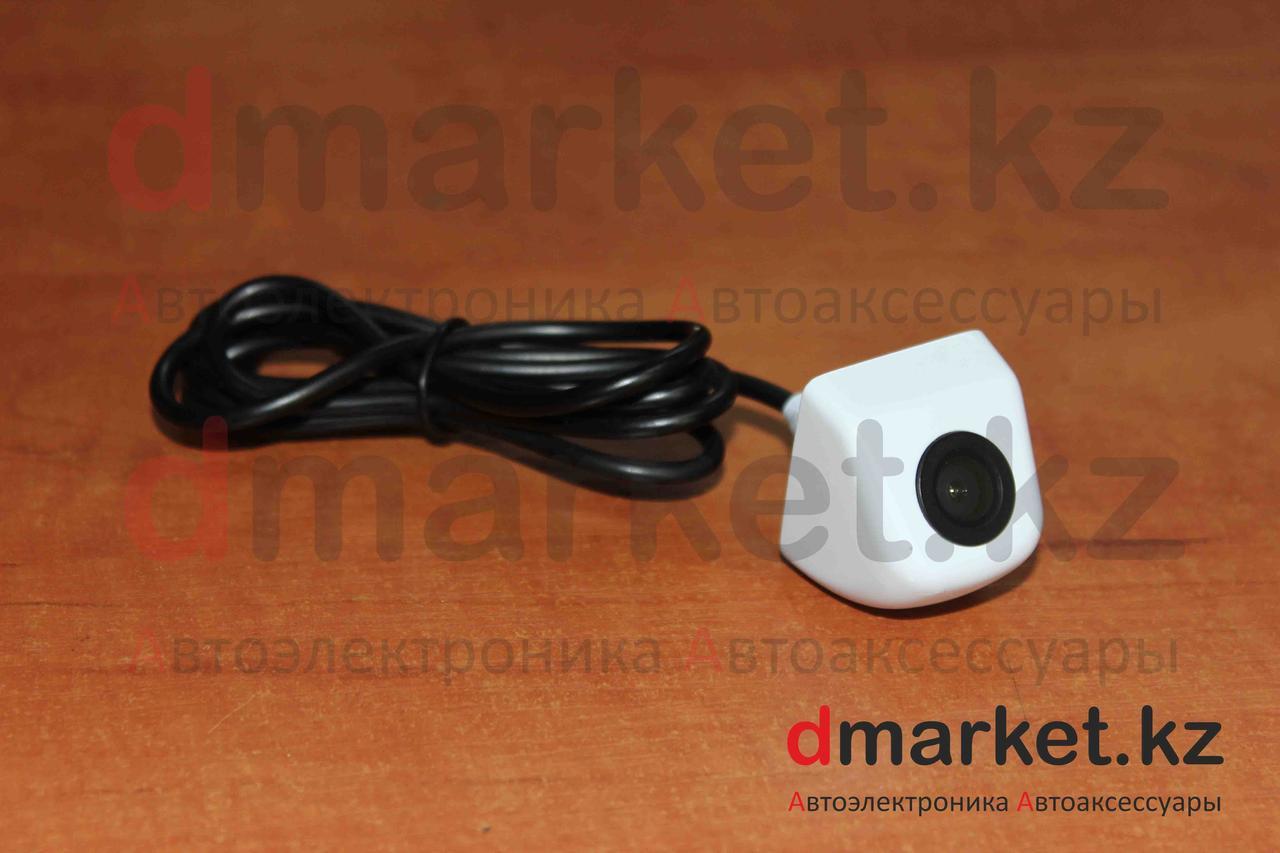 Камера заднего вида E-315, цветная, с разметкой, врезная, белая