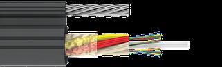 Оптический кабель для подвеса с тросом