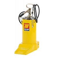 Солидолонагнетатель с ручным насосом 16 кг. Meclube 1141