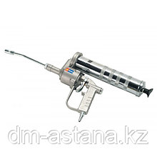 Пневматический пистолет  для густых смазок 500 г R 50: 1 с жесткой трубкой и фитингом Meclube