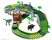 "Гибкий трек ""Динозавр трек"" 192 детали"