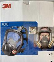 Полнолицевая маска 3M серии 6000 (6800, 6900)