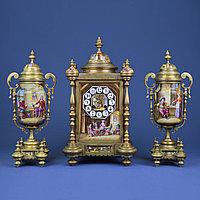 Часовой гарнитур в стиле Историзм Часовая мастерская Japy Freres