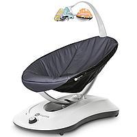 Кресло - качалка RockaRoo Gray Mesh (4Moms, США)