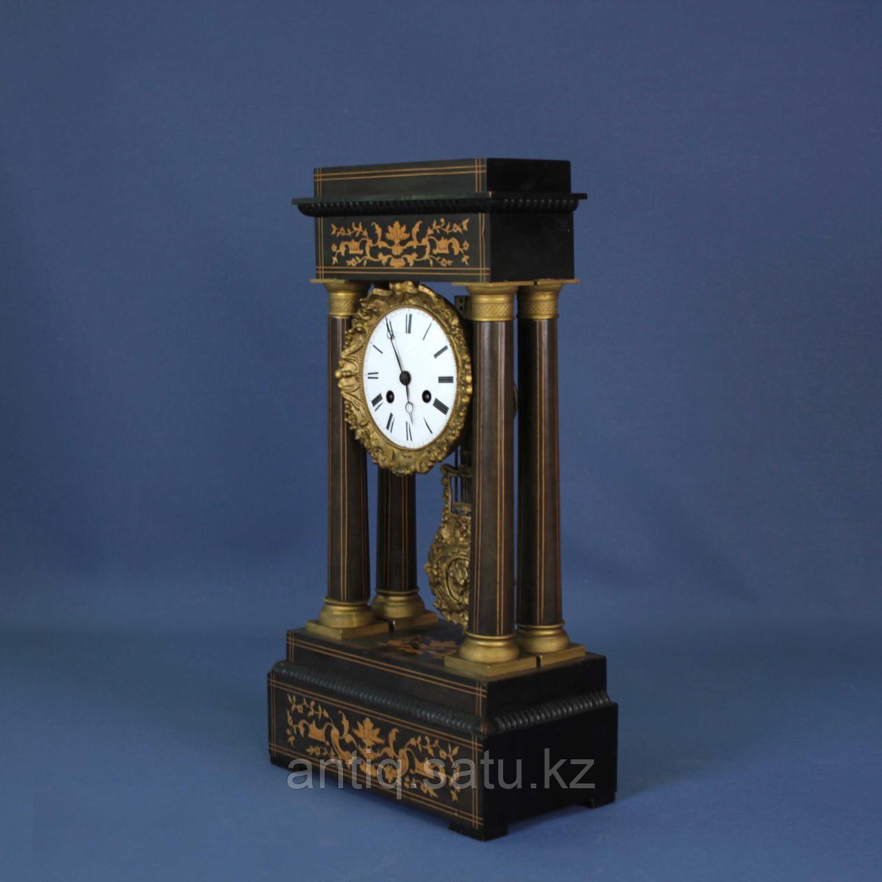 Кабинетные часы в стиле Карла Х. Часовая мастерская Samuel Marti & Cie - фото 2