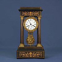 Кабинетные часы в стиле Карла Х. Часовая мастерская Samuel Marti & Cie