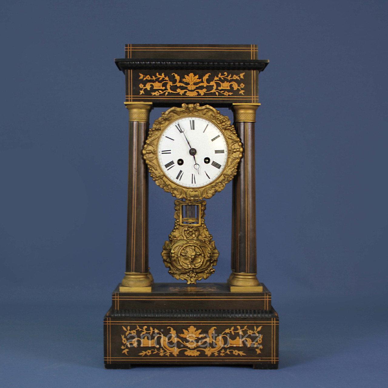 Кабинетные часы в стиле Карла Х. Часовая мастерская Samuel Marti & Cie - фото 1