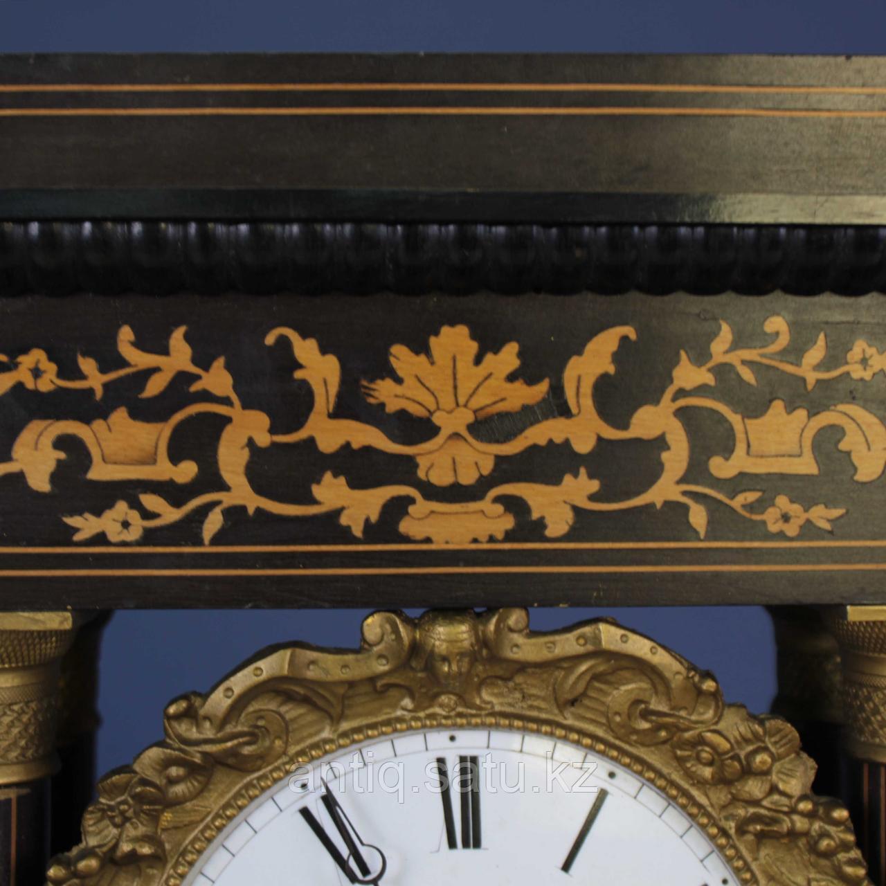 Кабинетные часы в стиле Карла Х. Часовая мастерская Samuel Marti & Cie - фото 4