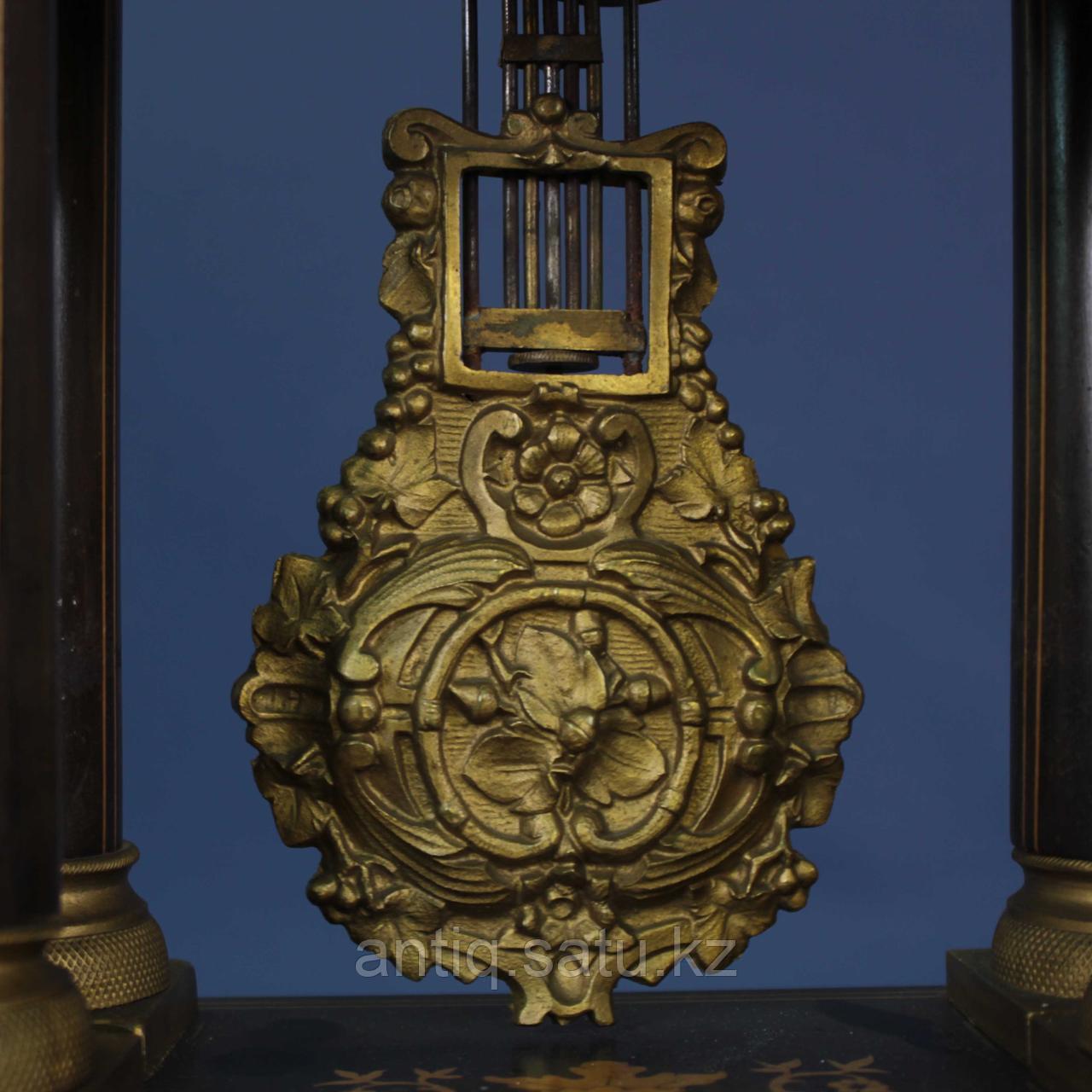 Кабинетные часы в стиле Карла Х. Часовая мастерская Samuel Marti & Cie - фото 3