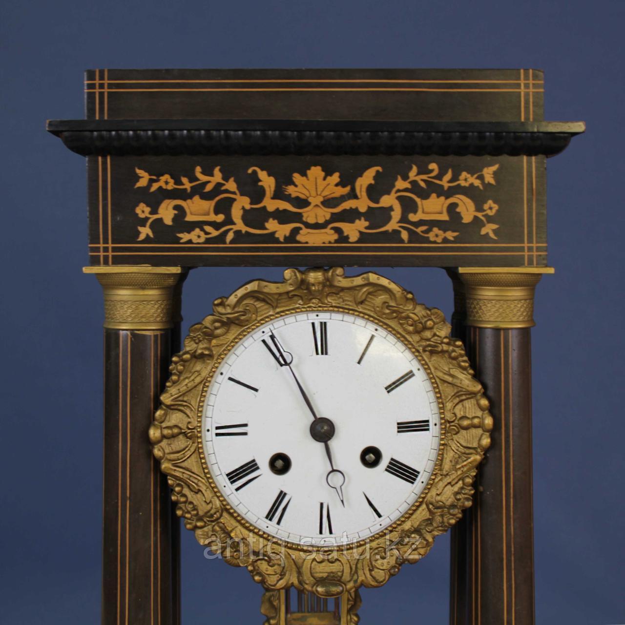 Кабинетные часы в стиле Карла Х. Часовая мастерская Samuel Marti & Cie - фото 5