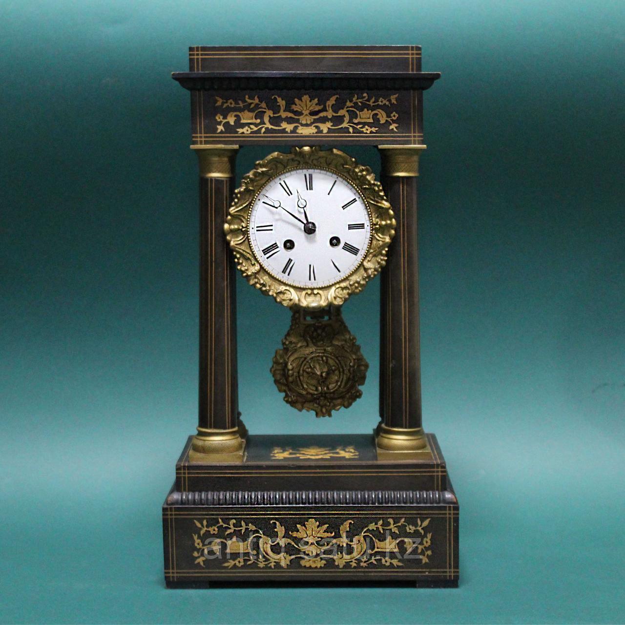 Кабинетные часы в стиле Карла Х. Часовая мастерская Samuel Marti & Cie - фото 8