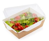 Коробка для салата плас/бум 500мл,16*12*4,5см