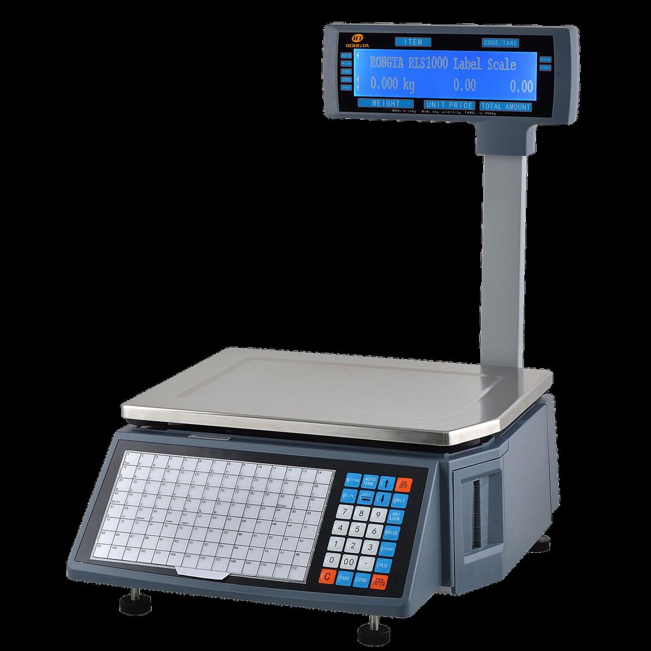 Весы с печатью этикеток Rongta RLS1100