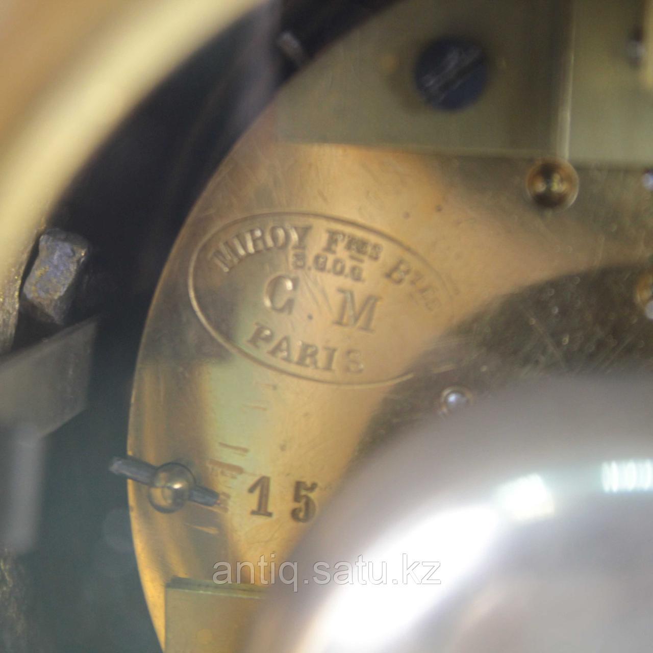 Каминные часы в стиле Людовика XVI. Часовая мастерская Miroy Freres - фото 9