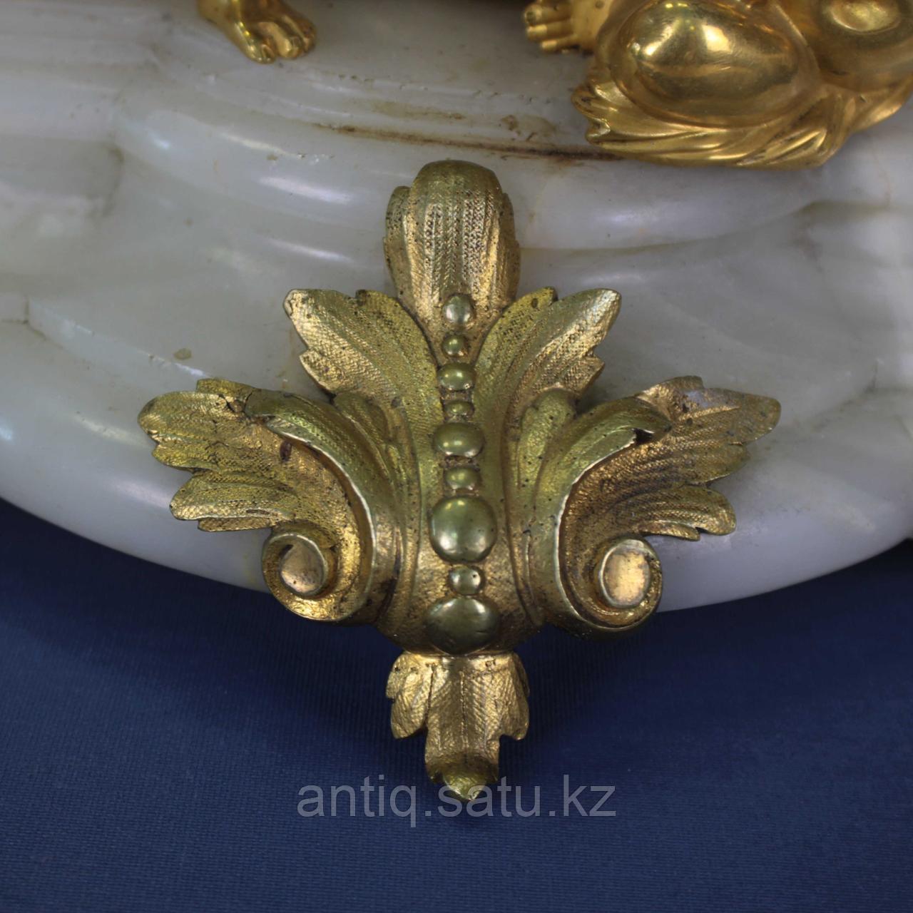 Каминные часы в стиле Людовика XVI. Часовая мастерская Miroy Freres - фото 8