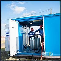 Установка комплектной трансформаторной подстанции КТП-10/0,4 кВ